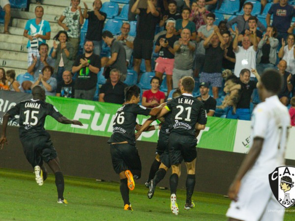 CAB 1 – Angers 1 (23/08/2013)