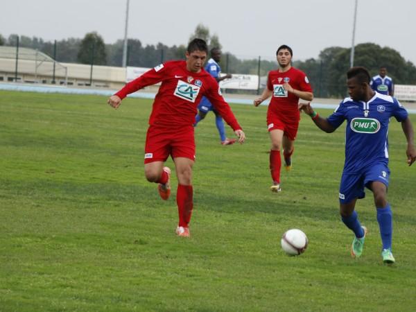 CDF : Gallia-Lucciana 1-3 CA Bastia